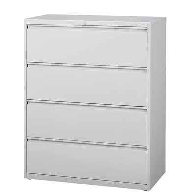 "CommClad 30"" Wide 4 Drawer HL10000-Series Lateral File Cabinet"