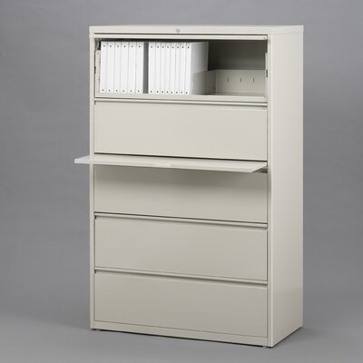 "CommClad 42"" Wide 5 Drawer Lateral File Cabinet"