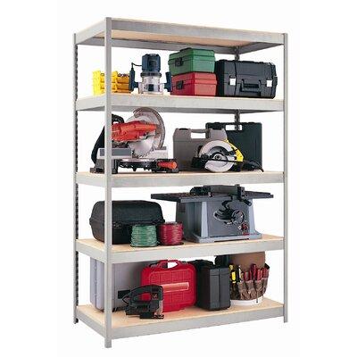 "CommClad 1500 Series 72"" H 5 Shelf Shelving Unit Starter"