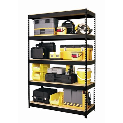 "CommClad Horse Rivet 72"" H  4 Shelf Shelving Unit Starter"