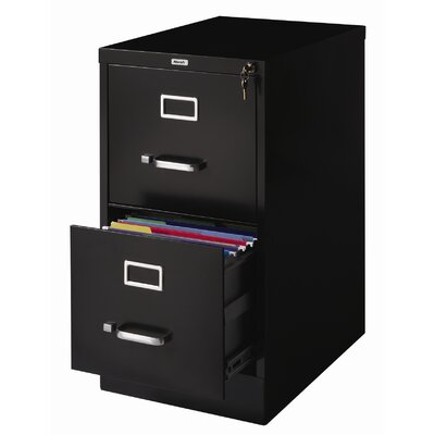 "CommClad 22"" Deep 2-Drawer Letter-Size Vertical File"