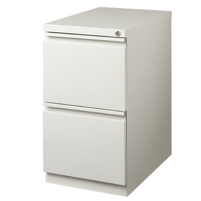 CommClad 2-Drawer Mobile Pedestal File