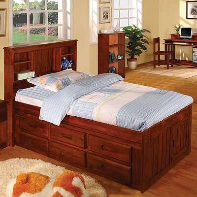 Discovery World Furniture Weston Captain Bedroom Collection