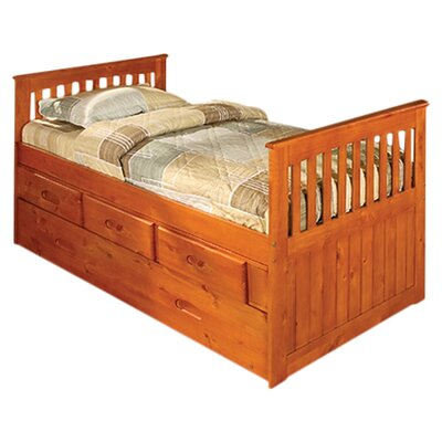 Discovery World Furniture Weston Twin Slat Bed