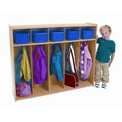 Angeles Value Line Toddler 5-Section Locker