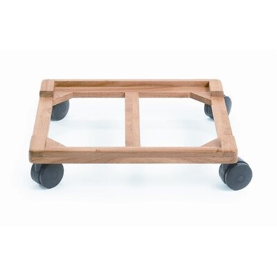 Angeles Wood Chair Cart