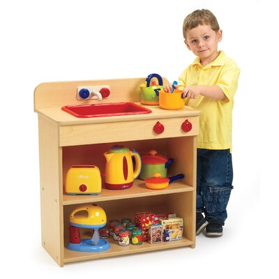 Angeles Value Line 2-in-1 Toddler Kitchen