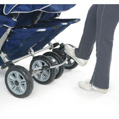 Angeles SureStop Folding Commercial Bye-Bye 4-Passenger Tandem Stroller
