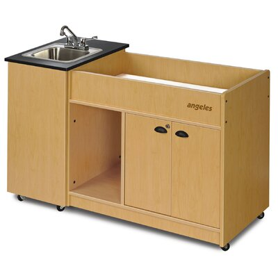 Angeles Portable Hygienic Stainless Basin Changing Table