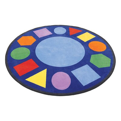 Angeles Geometric Shapes Circle Carpet