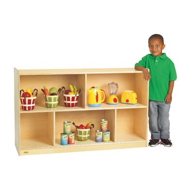 Angeles Value Line Birch Mobile Preschool Shelf