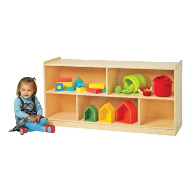 Angeles Value Line Birch Mobile Two-Shelf Storage