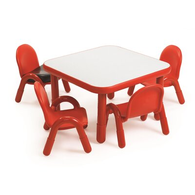 Preschool Square Table and Chair Set