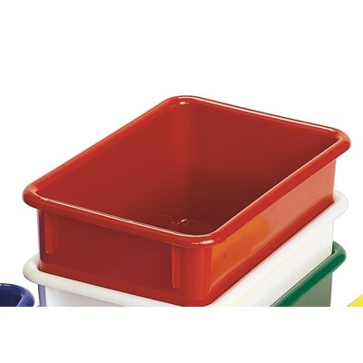 "Angeles Value Line 11"" Cubbie Trays in Red"