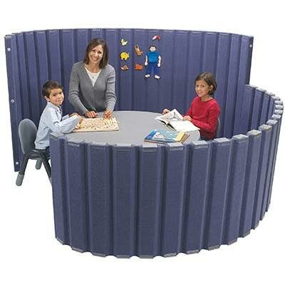 "Angeles 30"" SoundSponge Quiet Dividers Wall with 2 Support Feet"