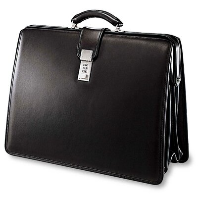 Jack Georges Platinum Classic Laptop Briefcase