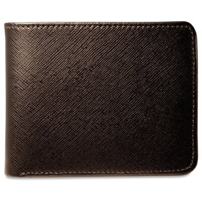 Jack Georges Prestige Bi-Fold with Flap Men's Wallet