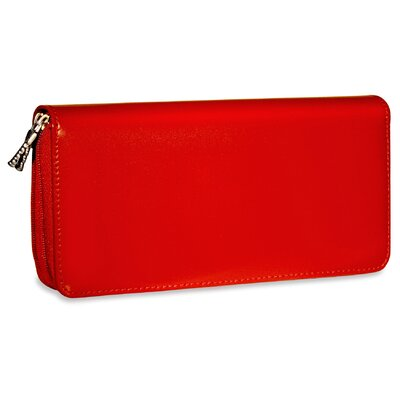 Jack Georges Milano Zippered Clutch Women's Wallet