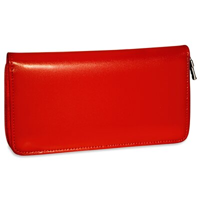 Jack Georges Milano Zippered Checkbook/Travel Women's Wallet