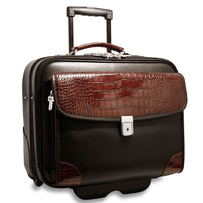 Jack Georges Venezia Veronica Laptop Briefcase on Wheels
