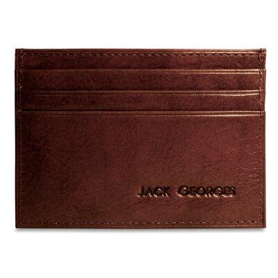 Jack Georges Sienna Weekender Wallet