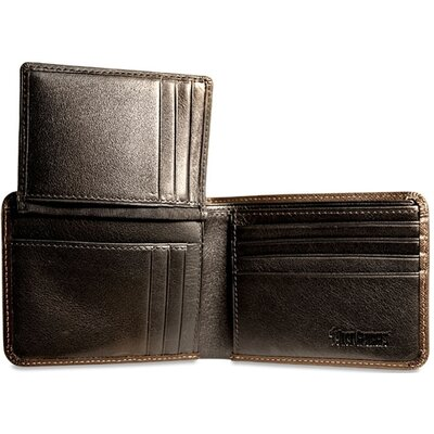 Jack Georges Prestige Bi-Fold with Flap Men's Wallet