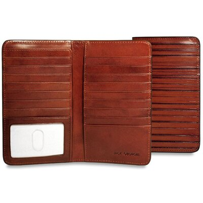 Jack Georges Monserrate Breast Secretary Bi-Fold Wallet