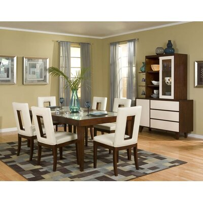 Najarian Furniture Enzo 7 Piece Dining Set