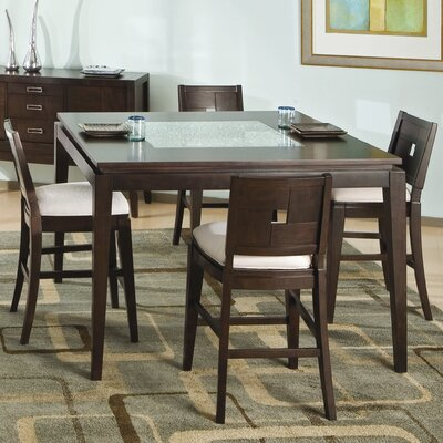 Najarian Furniture Spiga 5 Piece Counter Height Dining Set