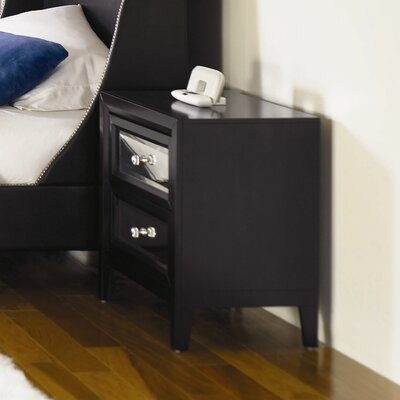 Najarian Furniture Reflections 2 Drawer Nightstand