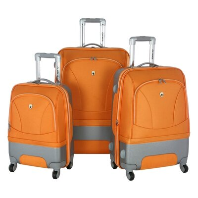 Olympia Majestic 3 Piece Expandable Luggage Set