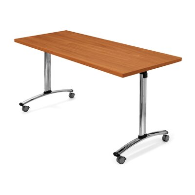 SurfaceWorks Drive 24&quot; x 48&quot; Rectangular Flip Top Table