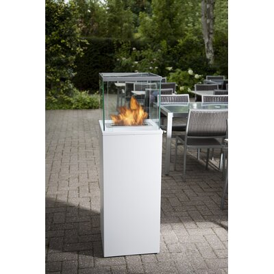 Bio-Blaze Column Bio Ethanol Fuel Fireplace