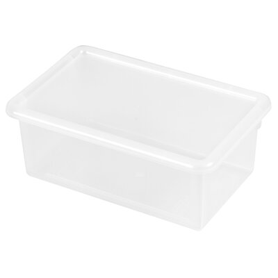ECR4kids Single Width Tote Bin With Matching Lid
