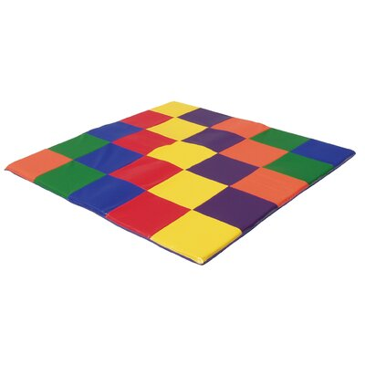 "ECR4kids 60"" Square Utra Soft Toddler Mat"