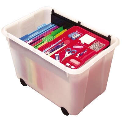 "ECR4kids 15.75"" Mobile Store N' Stack File System"