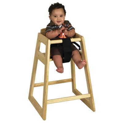 ECR4kids Stackable Toddler High Chair