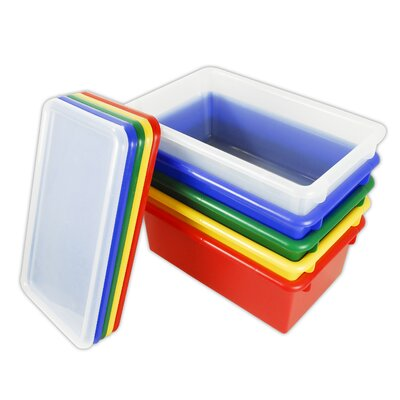 ECR4kids Stack and Store Bins with Lids