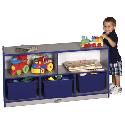 "ECR4kids 24"" Low Storage Cabinet, Laminate"