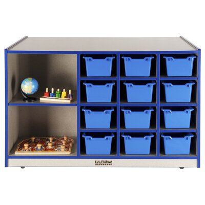 ECR4kids Double-Sided 14 Compartment Cubby