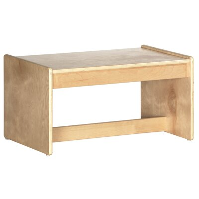 ECR4kids Living Room Set - Birch Coffee Table