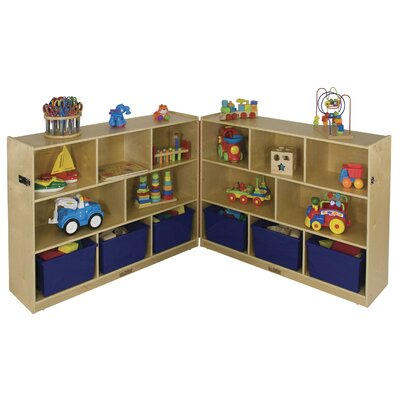 "ECR4kids 36"" Fold and Lock Cabinet"