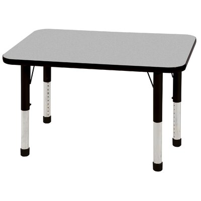 "ECR4kids 24"" x 36"" Rectangular Adjustable Activity Table"