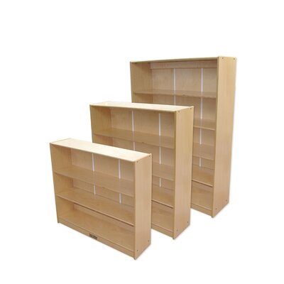 "ECR4kids 36"" Bookcase in Birch"
