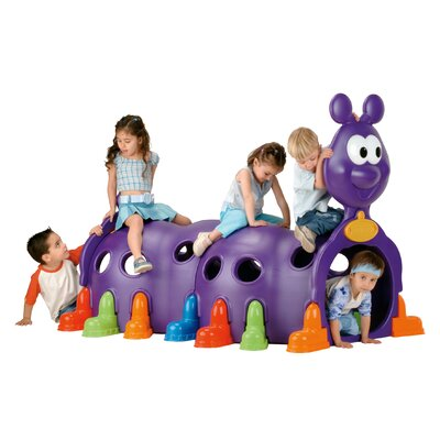 ECR4kids Happy Caterpillar Tunnel Playground