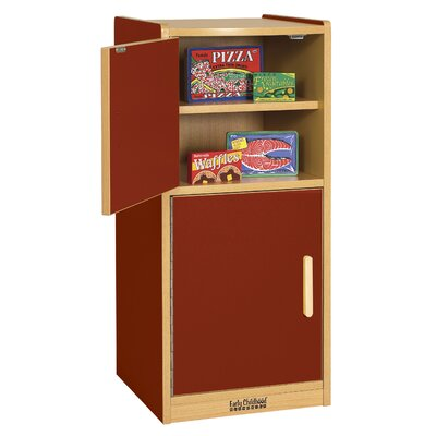 ECR4kids Colorful Essentials Play Refrigerator