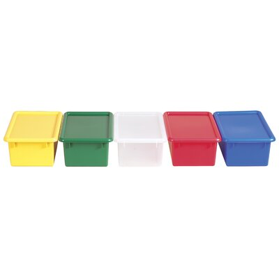 ECR4kids Stack and Store Bins with Lids (Set of 12)