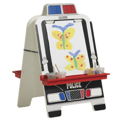 ECR4kids Police Car Easel