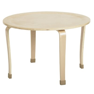 "ECR4kids 30"" Round Bentwood Play Table"