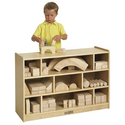 ECR4kids Medium Block Storage Cart